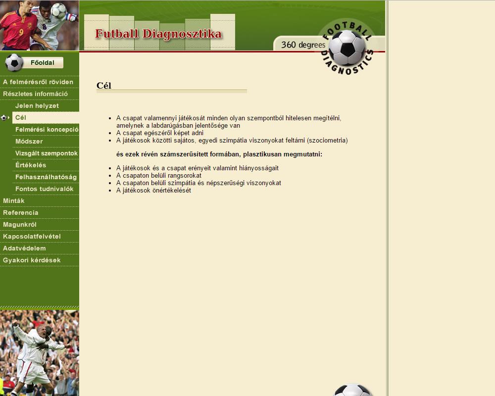 Futball diagnosztika