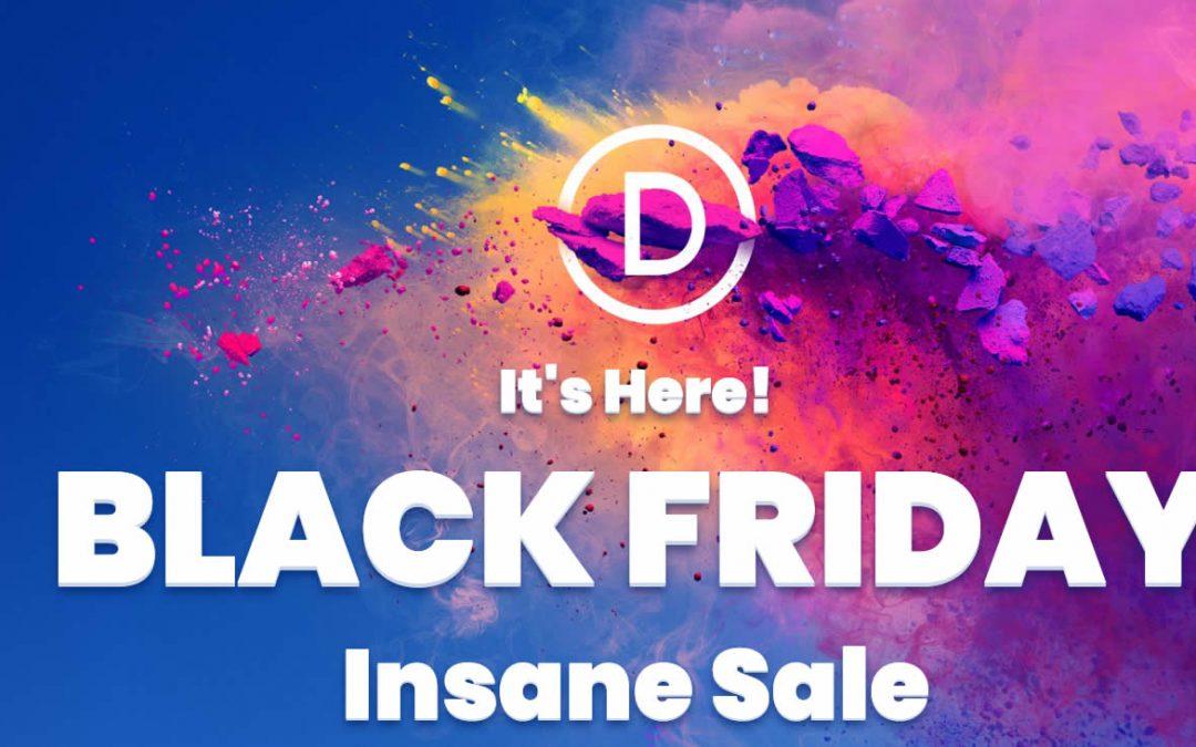 Divi Black Friday – Divi kedvezményes áron