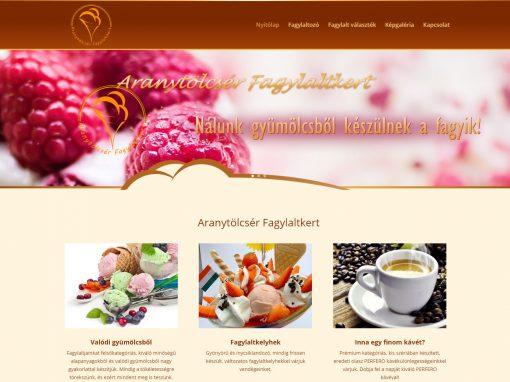 Aranytölcsér weboldalkészítés