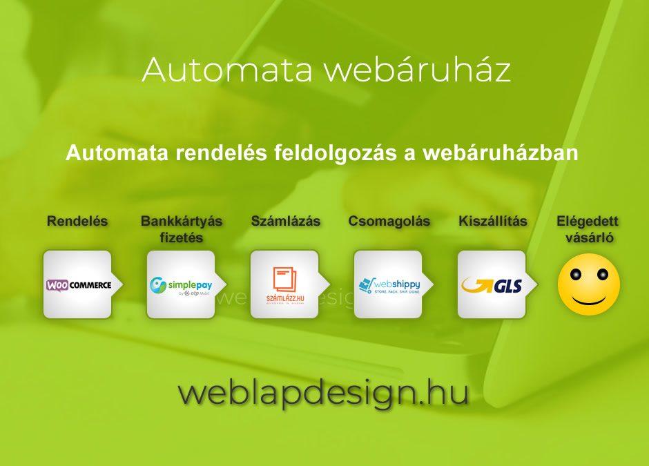 Automata Webáruház Készítés