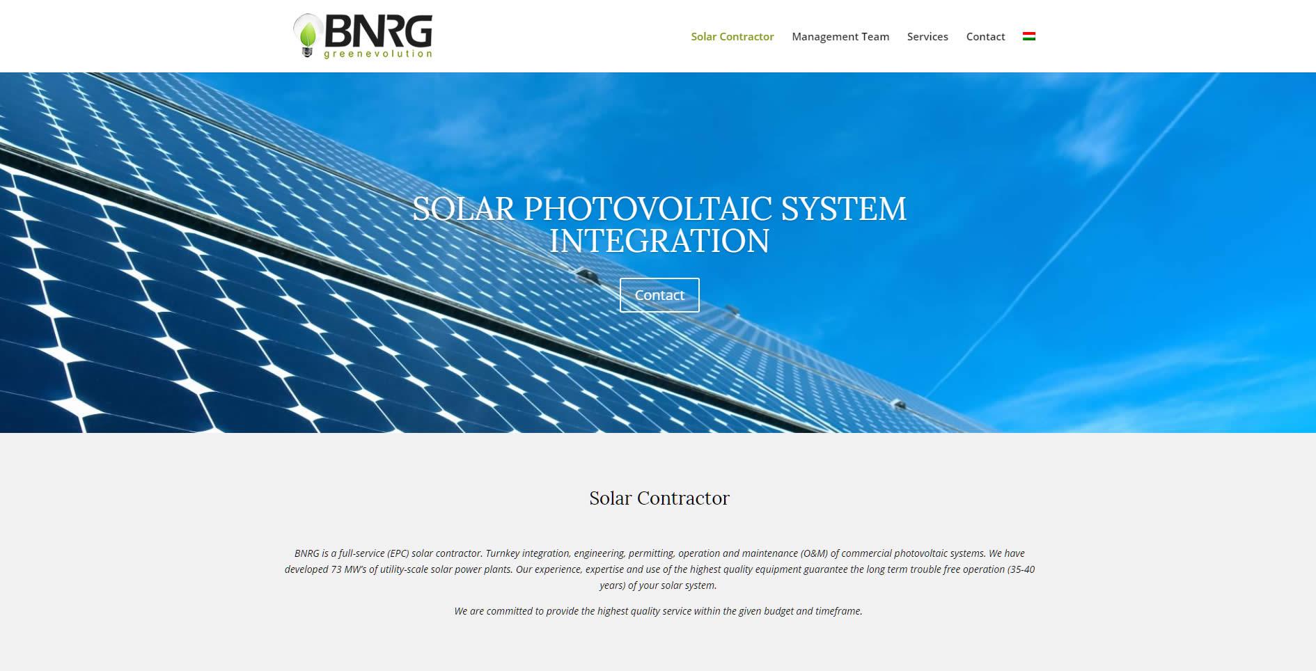 bnrg weboldal angol nyelven