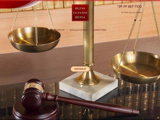 Ügyvédi weboldal átalakítása
