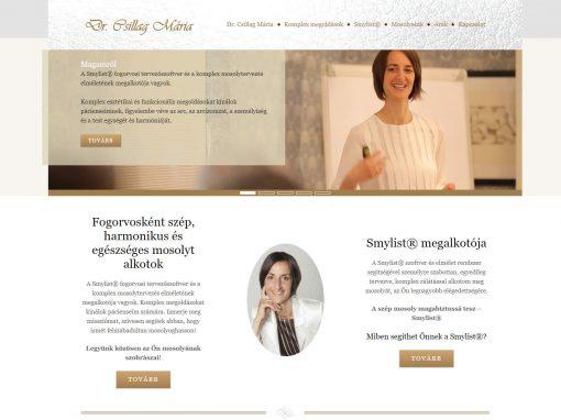 Dr. Csillag Mária weboldalak