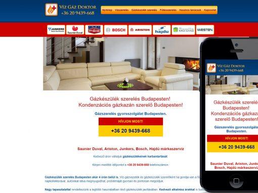 Gázdoktor weboldal