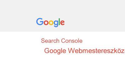 Google Webmestereszközök