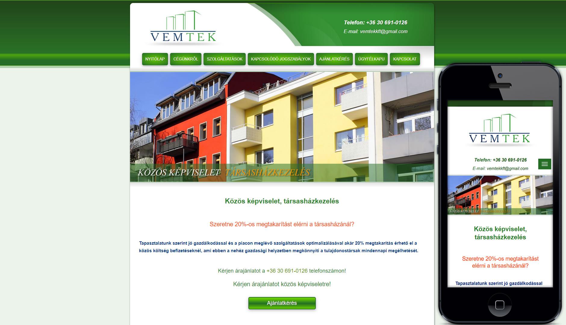 greenhousetarsashaz mobilbarát weboldalkészítés
