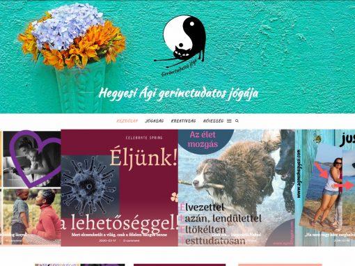 Hegyesi Ági Weboldala