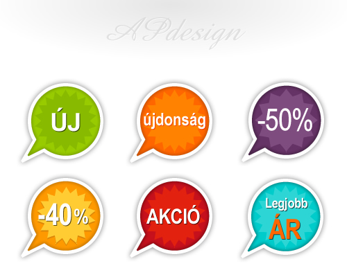 ikonok weboldalra apdesign