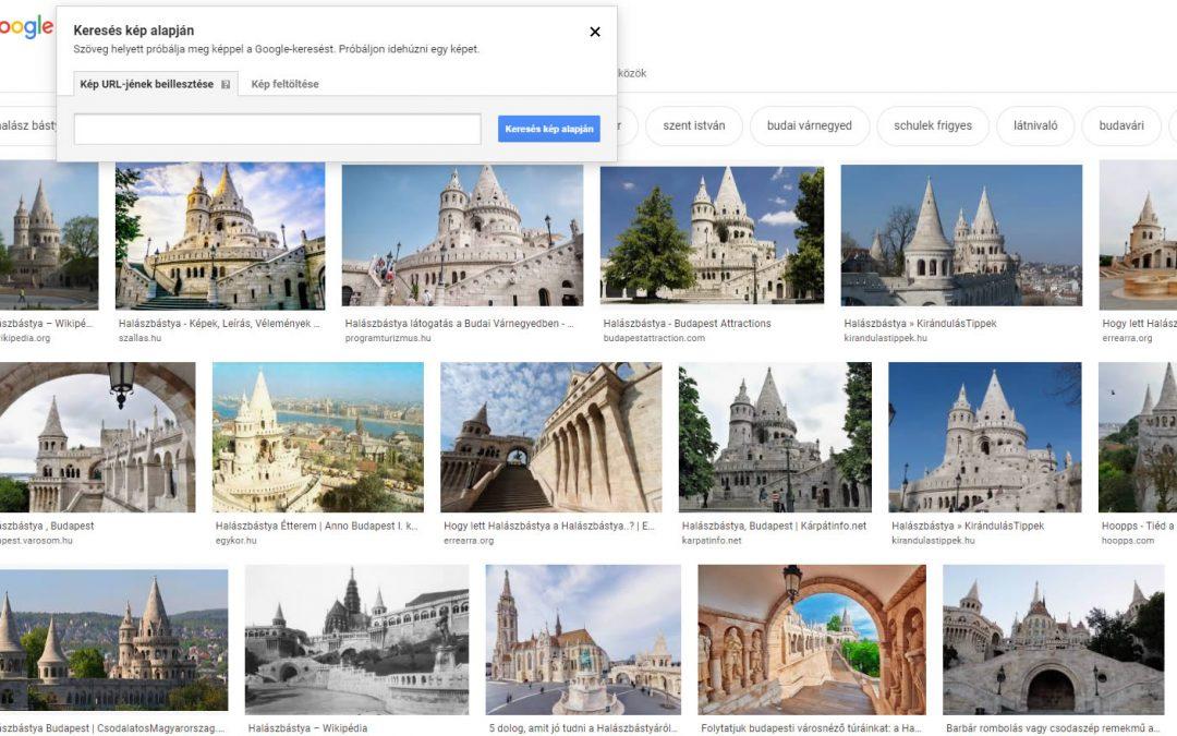 Kép alapú keresés a Google keresőben