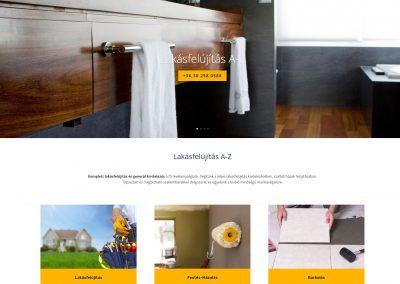lakásfelújítás Budapest honlap