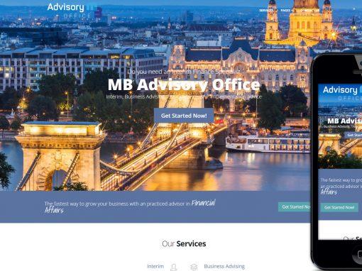 Multibooking weboldal készítés