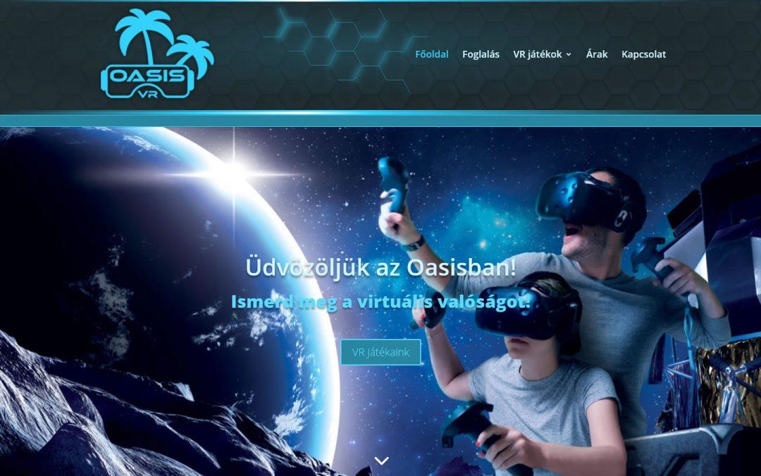 Oasis VR WordPress Weboldal Készítés
