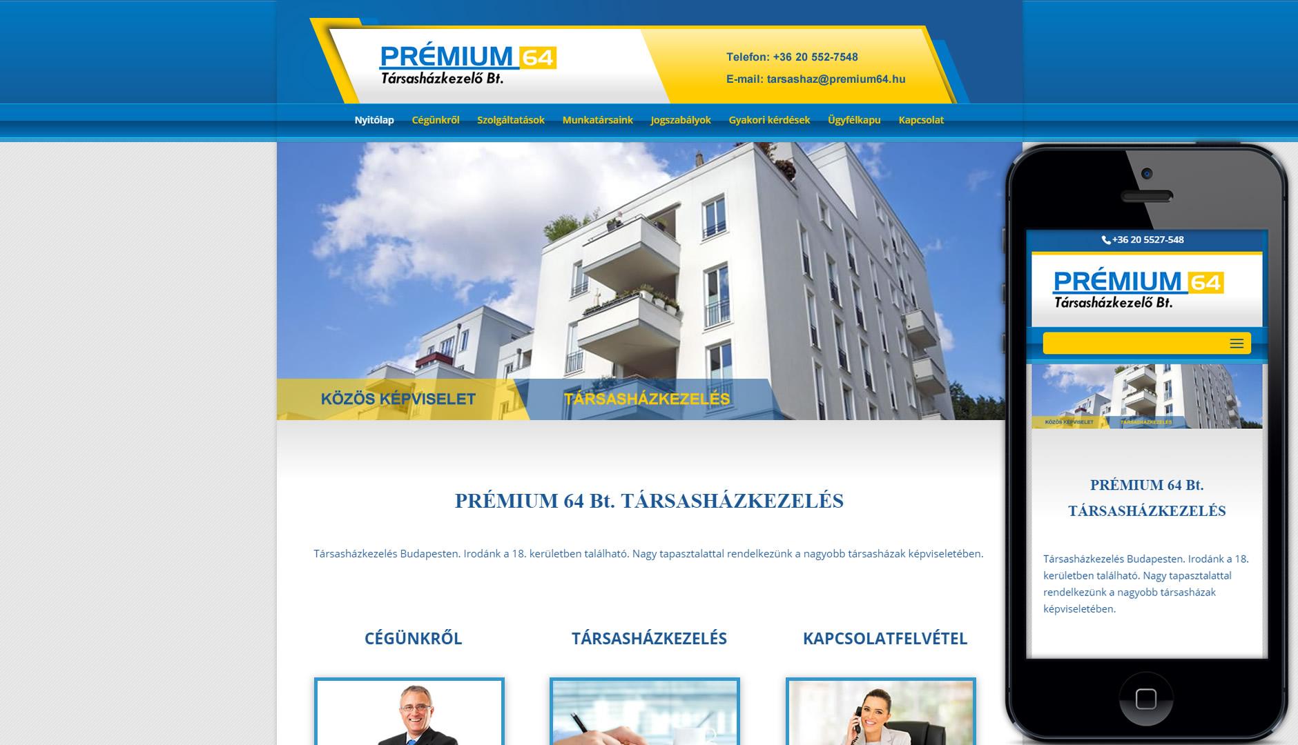 Szép üzleti weboldal készítés