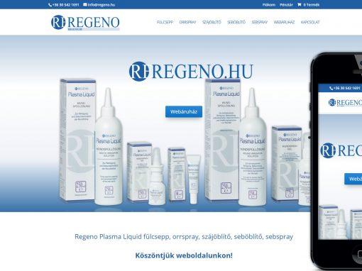Regeno Webáruház Készítés