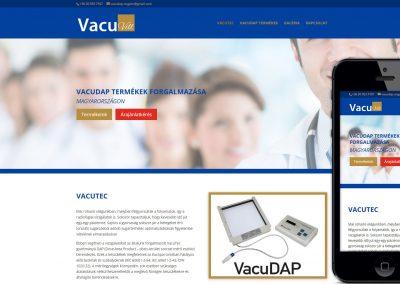 vacuvill reszponzív weboldal készítés