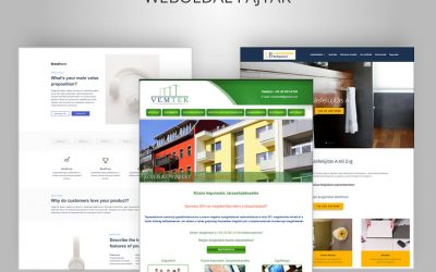 Weboldal fajták, webodal típusok