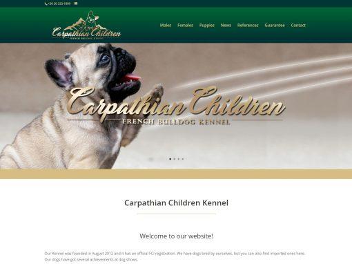 Weboldal készítés francia bulldog tenyésztőnek