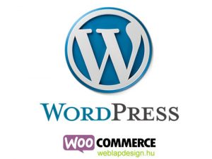 wordpress woocommerce webáruház